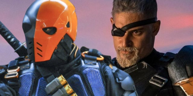 deathstroke arrow justice league manu bennett joe manganiello