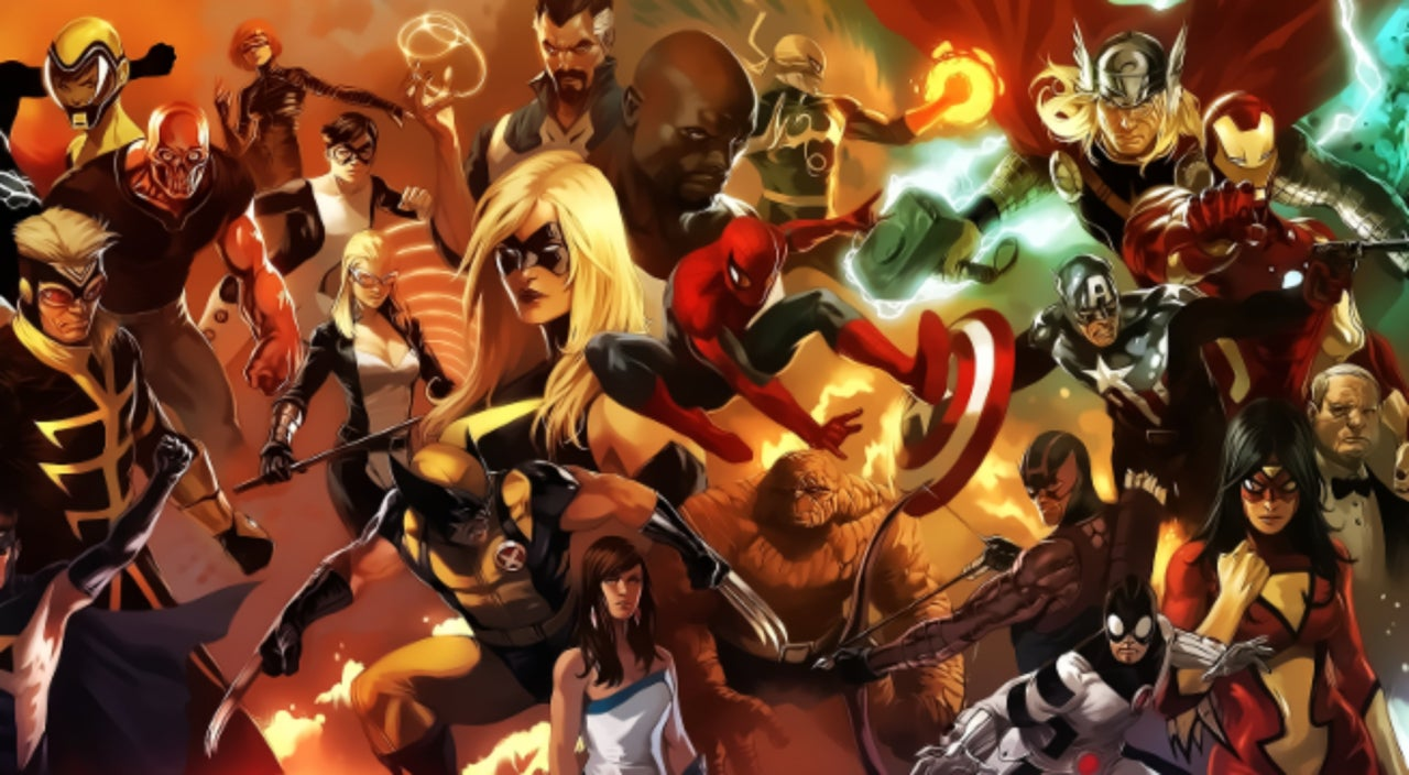 Here's an Infographic of Who Owns What Marvel Characters Now