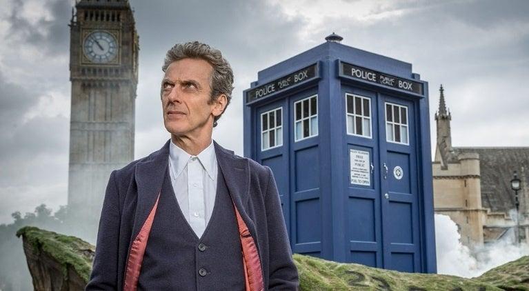 Doctor Who Peter Capaldi TARDIS
