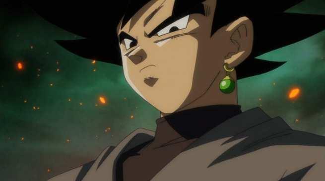 Dragon Ball Super English Dubbed Goku Black Super Saiyan Rose
