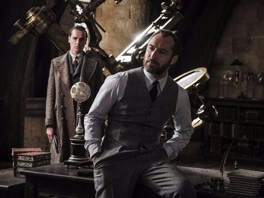 dumbledore fantastic beasts 2