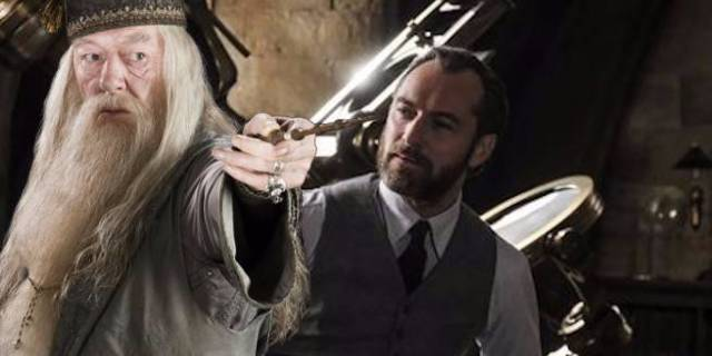 dumbledore fantastic beasts 2 harry potter