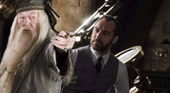 dumbledore fantastic beasts 2 harry potter