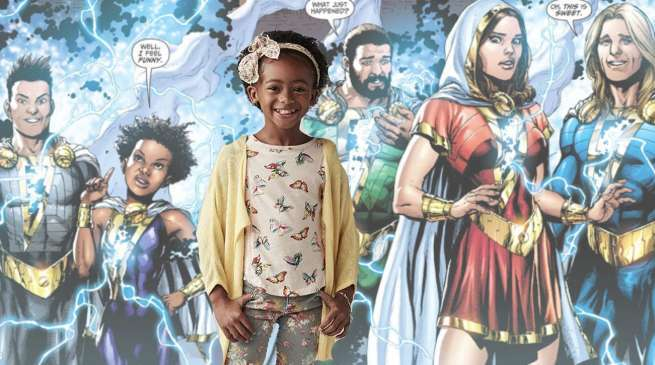 Faithe Herman in Shazam Movie Darla Dudley