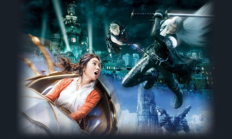final fantasy universal ride