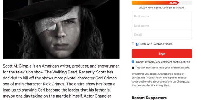 fire gimple petition