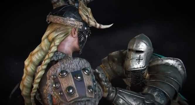 For Honor Groping Animation