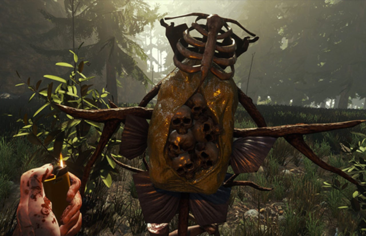 New Trailer For The Forest Shows Off Multiplayer Action On Ps4