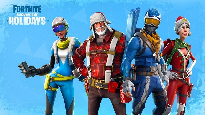fortnite holiday