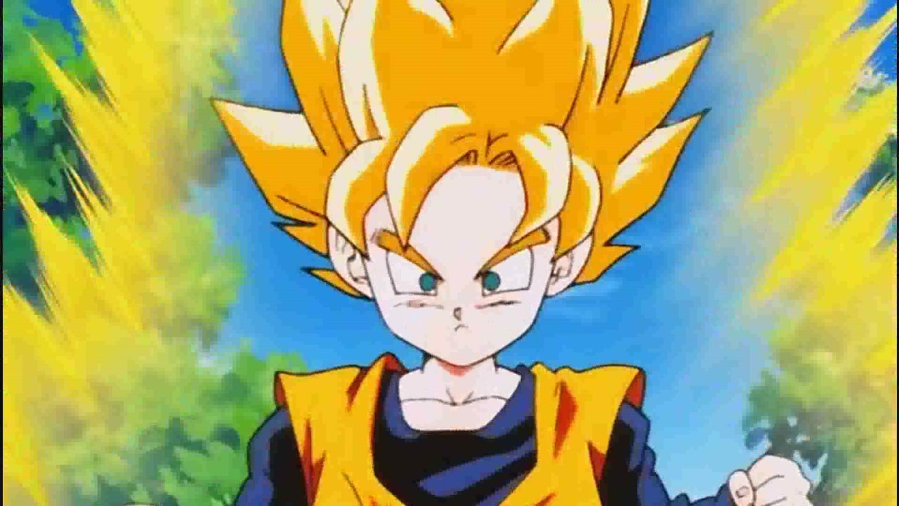 dragon ball creator reveals why goten went super saiyan so easily