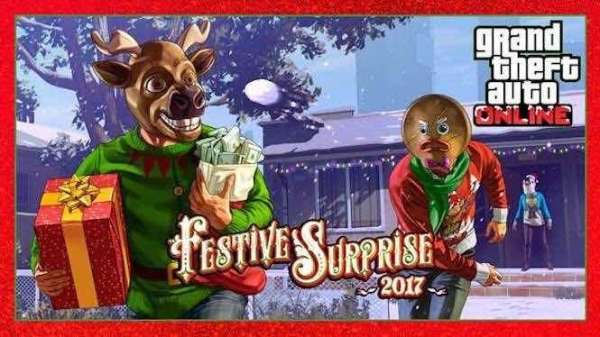 Grand Theft Auto Festive