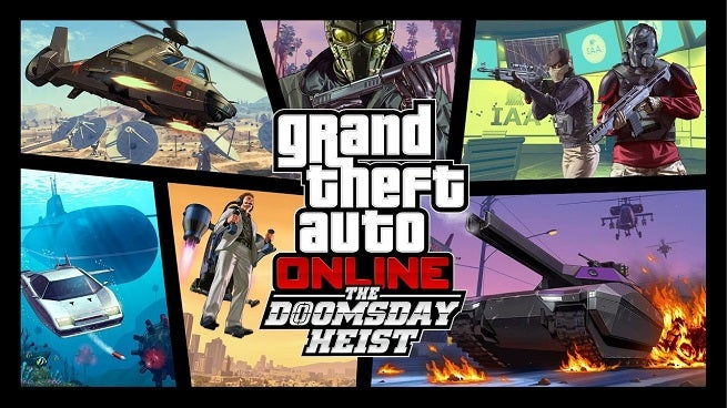 Grand Theft Auto Online Doomsday Heist