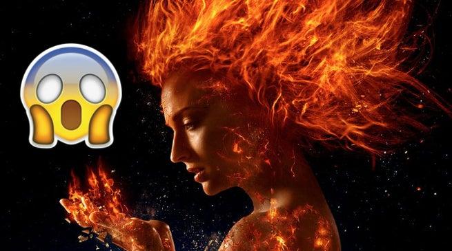 Jean Grey as Phoenix in X-Men- Dark Phoenix