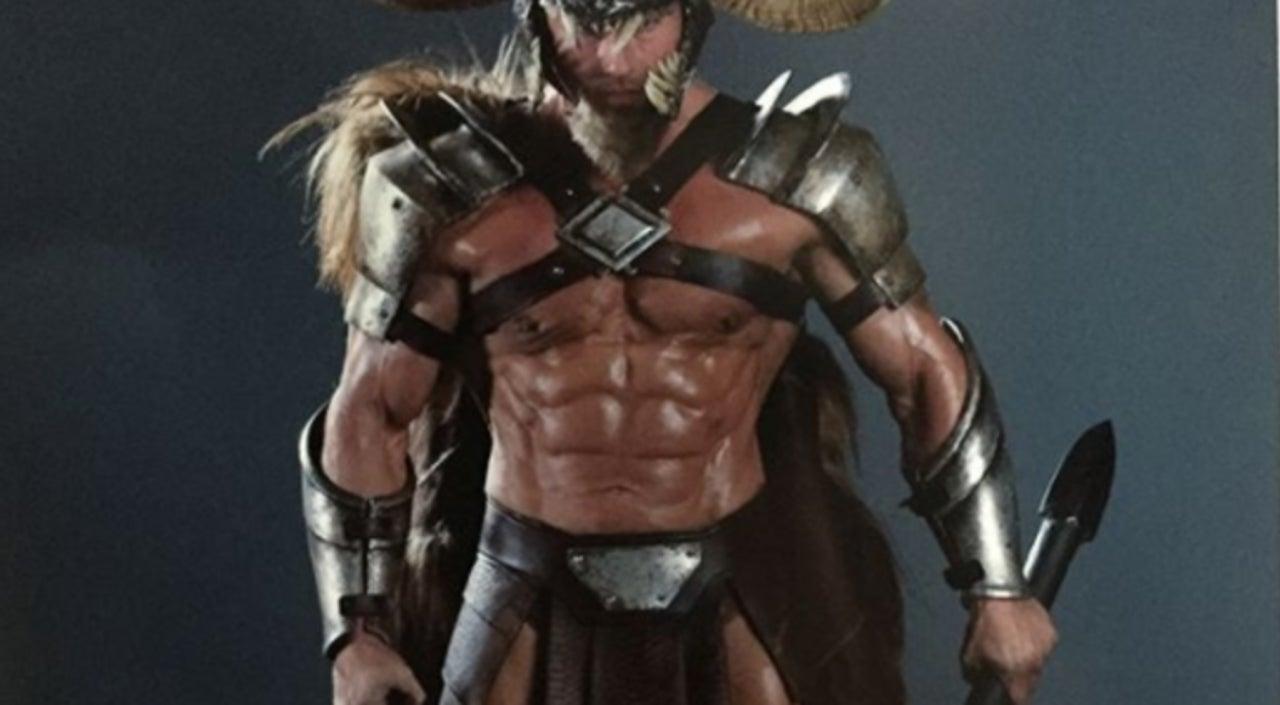 justice league ares actor reveals original look photo