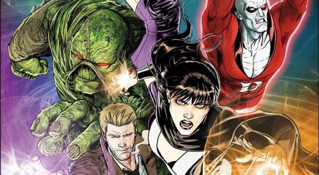 Justice League Dark Concept Art Revealed