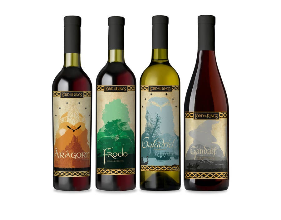 lord of the rings wine