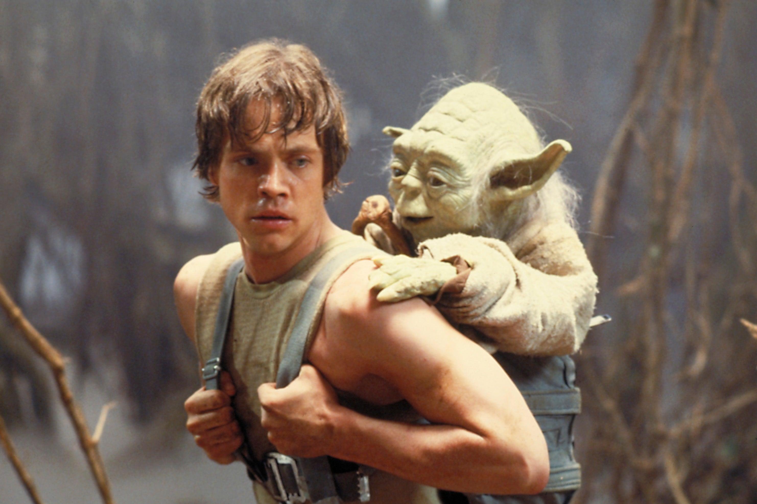 luke skywalker yoda empire
