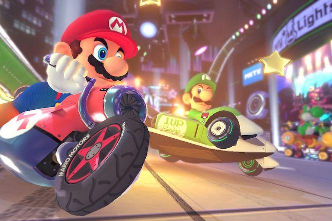 Mario Kart 8 Maintenance