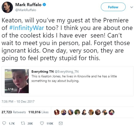 mark ruffalo keaton jones chris evans