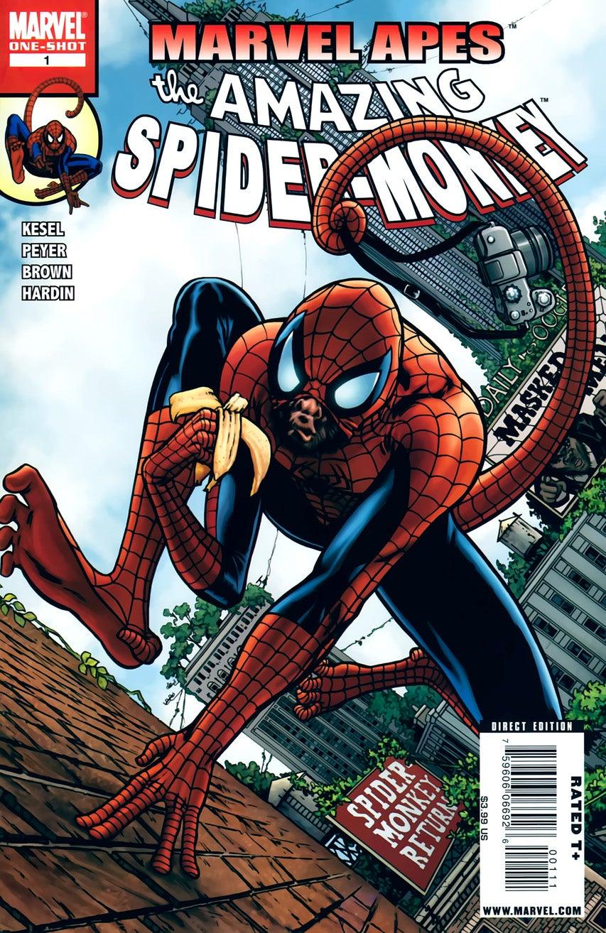 Marvel Apes Amazing Spider-Monkey Vol 1 1