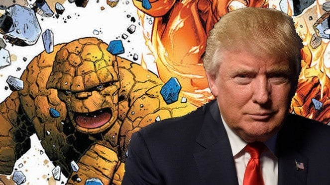marvel two in one donald trump thing