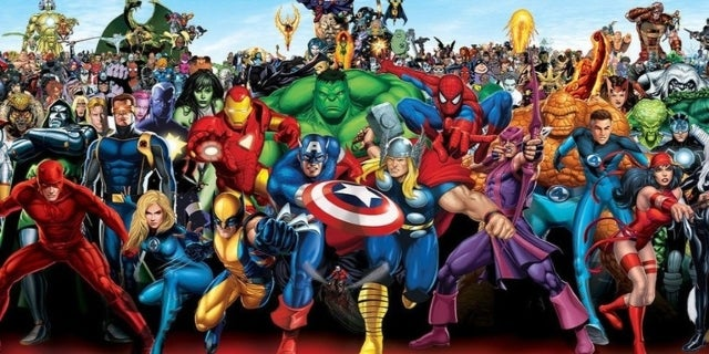 Marvel Universe Avengers X-Men