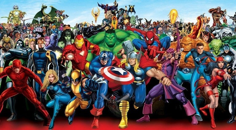 Marvel Universe Avengers X-Men