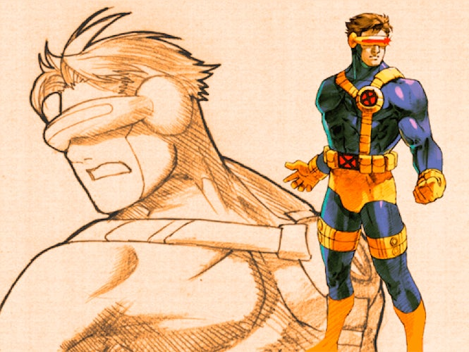 Marvel vs. Capcom Cyclops