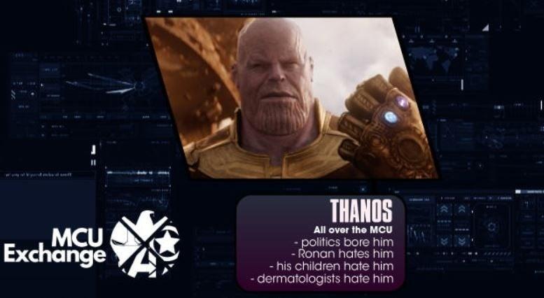 mcu villains infographic thanos