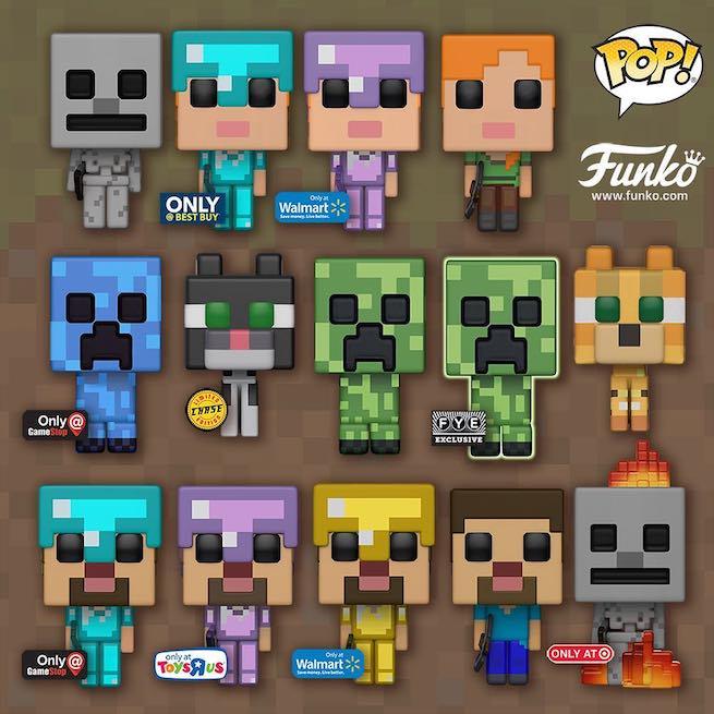 minecraft-funko
