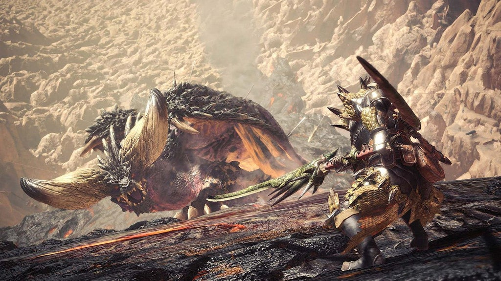 monster hunter world featured