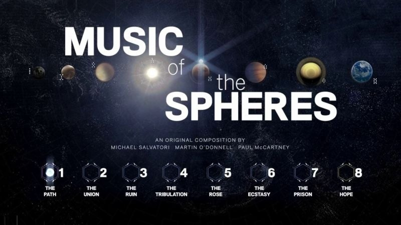music of the sphere's destiny