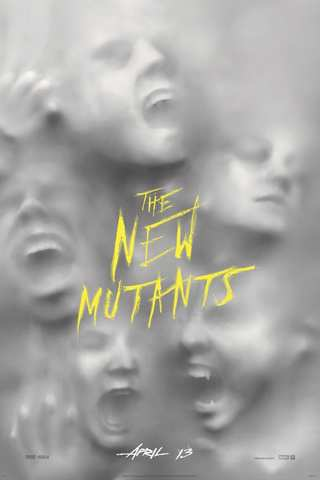 The New Mutants movie poster image