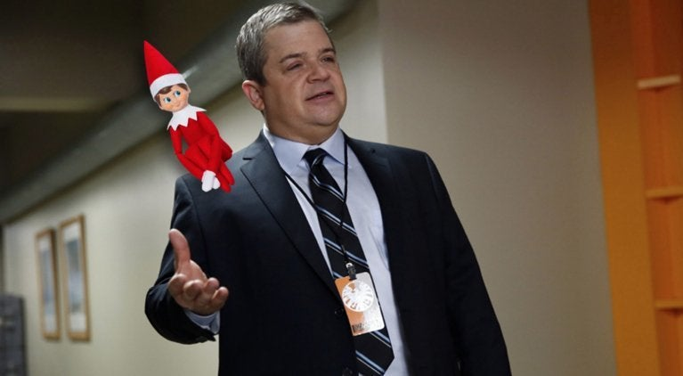 Patton Oswalt elf on a shelf comicbookcom