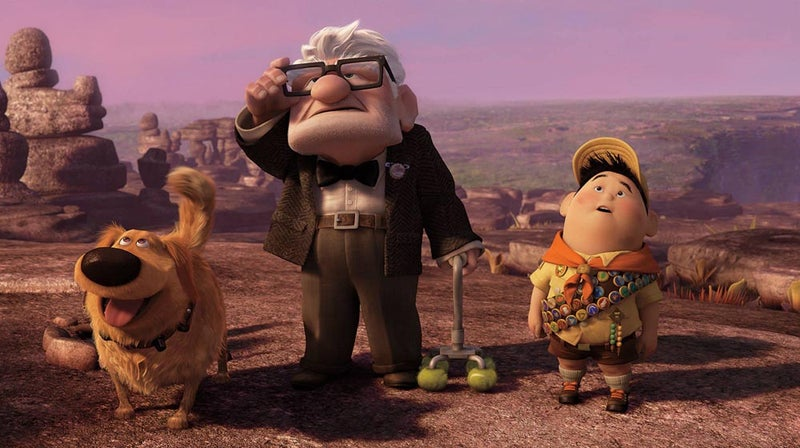 pixar up dug russell