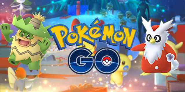 Christmas Update Pokemon Go.Over Twenty New Pokemon Coming To Pokemon Go