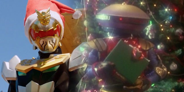 Power Rangers Christmas Tree.The Best Power Rangers Holiday Episodes