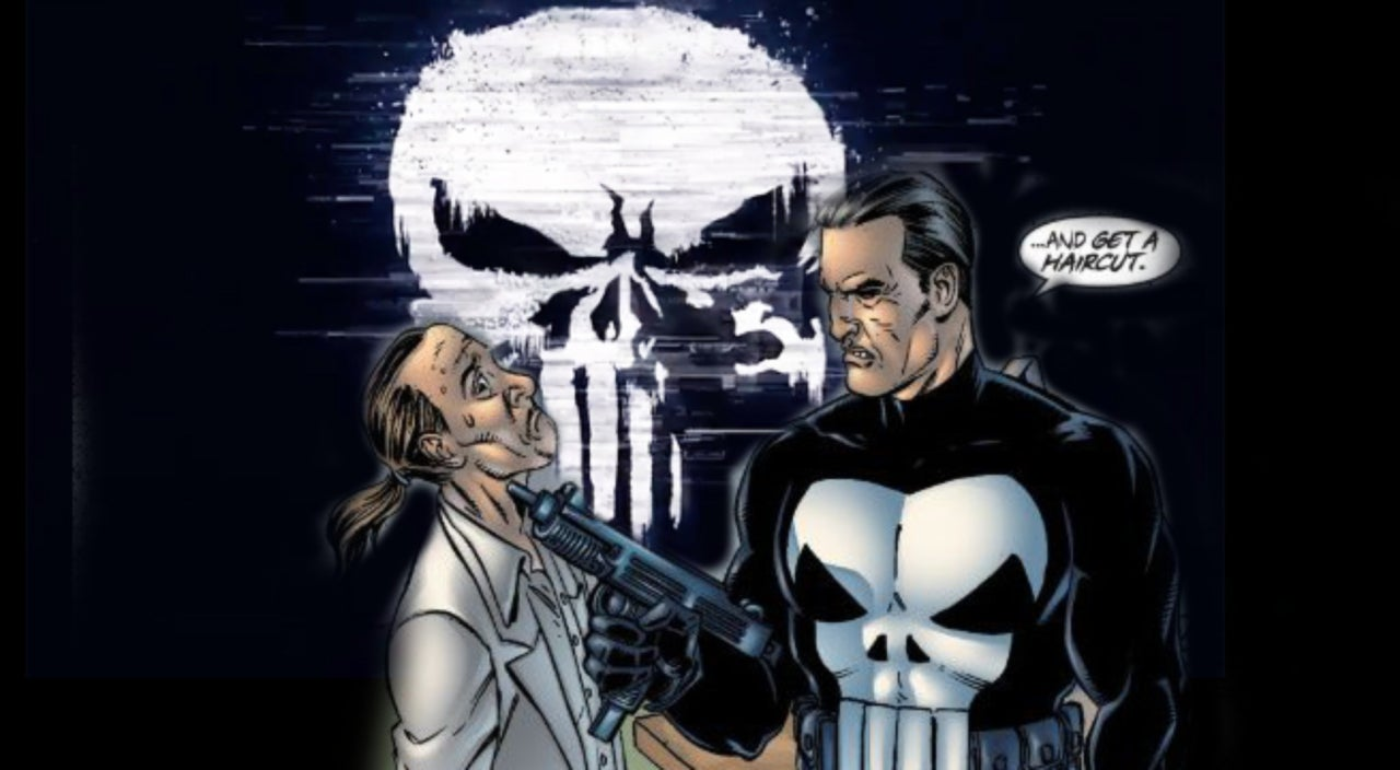 The Punisher Comic Book