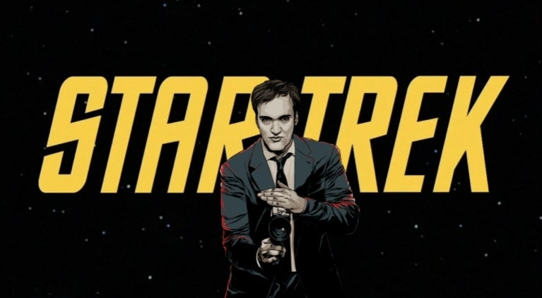 Quentin Tarantino Star Trek comicbookcom