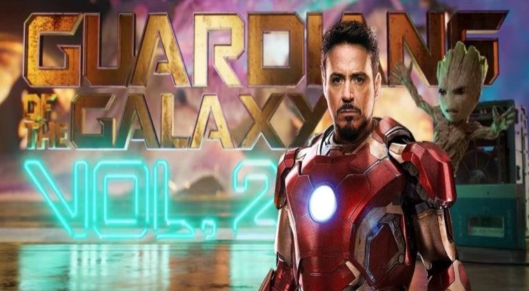 Robert Downey Jr Guardians of the Galaxy