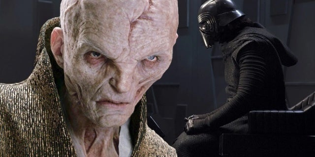 New Star Wars Comic Takes Snoke and Kylo Ren to Dagobah