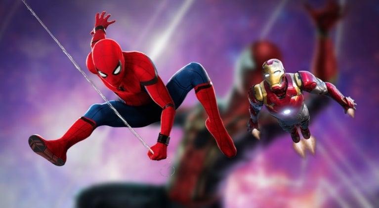 Spider-Man Avengers Infinity War comicbookcom