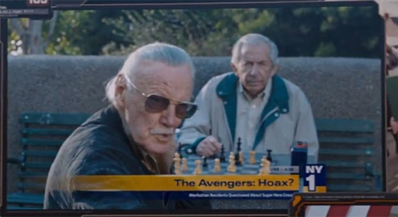 Image result for stan lee cameo avengers