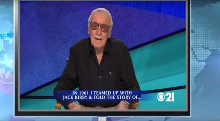 Stan Lee Jeopardy