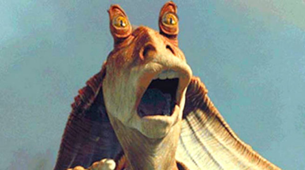 Star Wars: Mark Hamill Shares Photo of Nightmarish Jar Jar Binks Candy