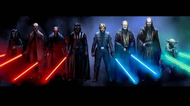 Star Wars Jedi and Sith Masters
