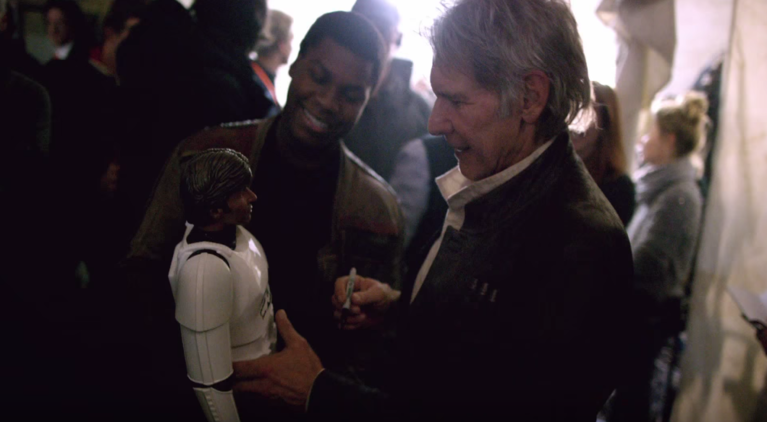 Star Wars John Boyega Harrison Ford