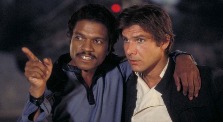 Star Wars Lando Calrissian Billy Dee Williams Han Solo Harrison Ford