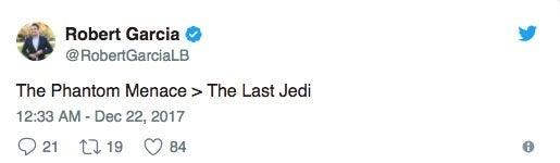 Star-Wars-Last-Jedi-Phantom-Menance-Robert-Garcia-Tweet