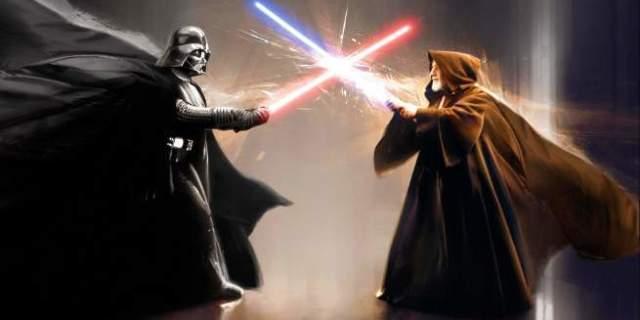 Star Wars Obi-Wan Vader Duel Fan Viral Video